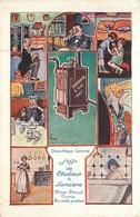 """Thèmes - Publicité : Chaudière à Gaz """" PHI""""  Chaleur Et Lumière 22,rue Drouot Paris  Réf  6439 - Advertising"""