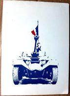 3 °REGIMENT D'AFRIQUE  MENU DE COMMEMORATION 11 NOVEMBRE 1958 CHAR  AUTO MITRAILLEUSE - Documents