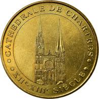 France, Jeton, Tourist Token, Chartres - La Cathédrale N°2, Arts & Culture - France