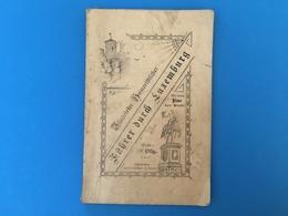 Führer Durch Luxemburg - 1895 - Beaucoup De Publicités - Luxembourg - Ville