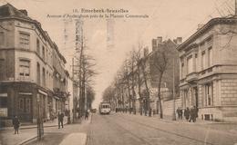 CPA - Belgique - Brussels - Bruxelles - Etterbeek - Avenue D'Auderghem Près De La Maison Communale - Etterbeek