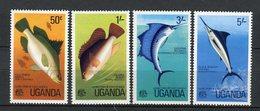 Uganda 1977. Yvert 126-29 ** MNH. - Uganda (1962-...)