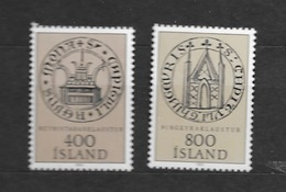 1982 MNH Iceland, Stamps From Block 4 - 1944-... Republik