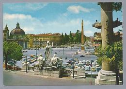 IT. ROMA. ROME. Piazza Del Popolo. Place Du Peuple. Volks-Platz. Old Cars. - Plaatsen & Squares