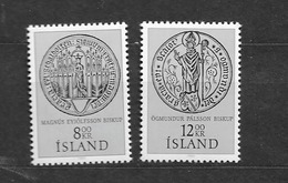 1983 MNH Iceland, Stamps From Block 5 - 1944-... Republik
