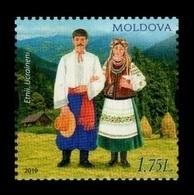 Moldova 2019 Mih. 1084 Peoples Of Moldova. Ukrainians MNH ** - Moldova