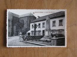 BRAINE LE CHÂTEAU La Place Des Martyrs Animée Brabant Wallon Belgique Carte Postale - Kasteelbrakel
