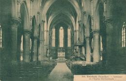 CPA - Belgique - Brussels - Bruxelles - Etterbeek - Intérieur De L'Eglise Ste-Gertrude - Etterbeek