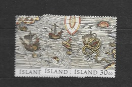 1989 MNH Iceland, Stamps From Block 10 - 1944-... Republik