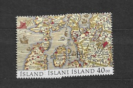 1990 MNH Iceland, Stamps From Block 11 - 1944-... Republik