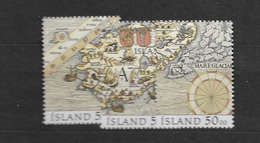 1991 MNH Iceland, Stamps From Block 12 - 1944-... Republik