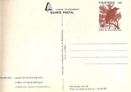 Mozambique ** & Postal Stationery, Birds From Moçambique, Rolieiro,Coracias Naevia Musambica, Maputo 1987 (7771) - Mozambico