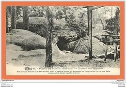 A497 / 433 Foret De FONTAINEBLEAU Caverne Des Brigands - France