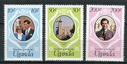 Uganda 1981. Yvert 261-63 ** MNH. - Uganda (1962-...)