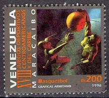 Venezuela 1998 - Caribean Games Basketball - Michel 3254  Used, Oblit, Gest. - Venezuela