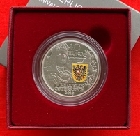 """Austria 10 Euro 2019 """"Chivalry"""" Ag Silver Colored PROOF - Austria"""
