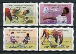 Uganda 1986. Yvert 425-28 ** MNH. - Uganda (1962-...)