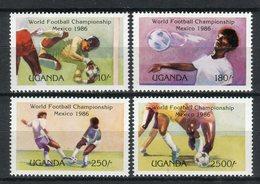 Uganda 1986. Yvert 397-400 ** MNH. - Uganda (1962-...)