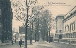 CPA - Belgique - Brussels - Bruxelles - Etterbeek - Avenue Des Nerviens Et Collège St. Stanislas - Etterbeek