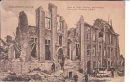 Nieuport Ville (1914-1918) - Hôtel De Ville, Tribunal & Bibliothèque - Nieuwpoort