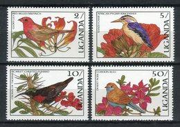 Uganda 1987. Yvert 445-48 ** MNH. - Uganda (1962-...)