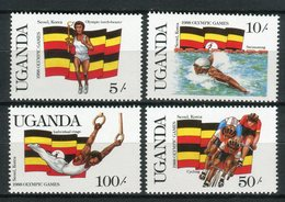 Uganda 1987. Yvert 458-61 ** MNH. - Uganda (1962-...)