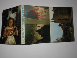 MCJ001* Carnet De Mini Vues Pas Une Carte Postale  Folklore Breton  Dans L'état Voir Photo  Editions Jean Audierne - Autres Communes