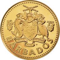 Monnaie, Barbados, Cent, 1975, Franklin Mint, FDC, Bronze, KM:10 - Barbados (Barbuda)