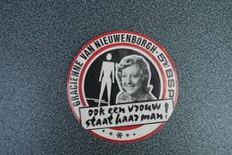 Aalst   Sticker Gracienne Van Nieuwenborgh  Kandidaat Bsp - Autocollants
