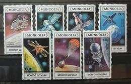 MONGOLIA 1988 Spacecraft And Satellites. HUEVO - MNH ** - Mongolia