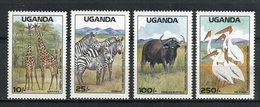 Uganda 1988. Yvert 522-25 ** MNH. - Uganda (1962-...)