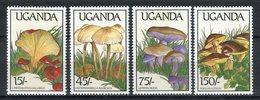 Uganda 1989. Yvert 571-74 ** MNH. - Uganda (1962-...)