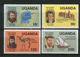 Uganda 1989. Yvert 599-602 ** MNH. - Uganda (1962-...)