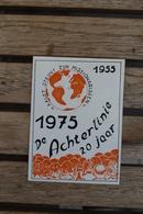 Aalst   Sticker 1975 De Achterlinie - Autocollants
