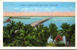 Florida Fort Myers Thomas A Edison Bridge - Fort Myers