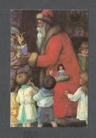 VOEUX DE NOËL - JOYEUX NOËL - FATHER CHRISTMAS - CARTE DE SOUHAITS - PAR RENAISSANCE GREETING CARDS - Santa Claus