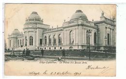 CPA-BELGIQUE-1905-LIEGE-EXPOSITION-LE PALAIS DES BEAUX ARTS -VOIR TIMBRE ET CACHET - Liege