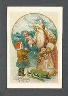 VOEUX DE NOËL - JOYEUX NOËL - FATHER CHRISTMAS - MERRY CHRISTMAS - CARTE DE SOUHAITS - PAR SUNSHINE CARD - Santa Claus