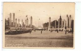 CPA-BELGIQUE-1935-LIEGE-EXPOSITION-L'ENTRÉE DU CENTENAIRE-CARTE OFFICIELLE DE L'EXPOSITION DE BRUXELLES 1935 - Liege