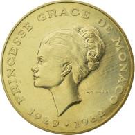 Monnaie, Monaco, 10 Francs, 1982, ESSAI, FDC, Nickel-Aluminum-Bronze - 1960-2001 Nouveaux Francs