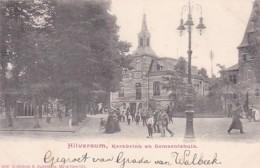 3575196Hilversum, Kerkbrink En Gemeentehuis - Hilversum