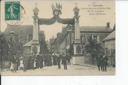 JANVILLE   Comice Aricole Du 29 Mai 1910 Arc De Triomphe - France