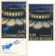 2007 Joint Issue / Gemeischaftsausgabe Luxembourg Mi 1763 + Belgique Mi 3725 - Luxembourg, Capitale Eur. Culture - Gezamelijke Uitgaven