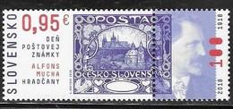 SLOVAKIA , 2018, MNH, PHILATELY, STAMP ON STAMP, 1v - Stamps On Stamps