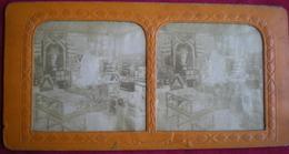 PHOTO STÉRÉOSCOPIQUE - Paris,Exposition Universelle De 1889,section Du Chili. ,vision Par Transparence. - Photos Stéréoscopiques