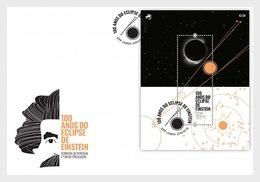 Portugal - Postfris / MNH - FDC Sheet 100 Jaar Einsteins Eclipse 2019 - 1910-... Republiek