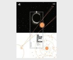 Portugal - Postfris / MNH - Sheet 100 Jaar Einsteins Eclipse 2019 - 1910-... Republiek
