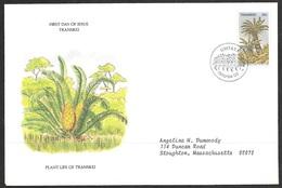 1979 Transkei First Day Cover - Encephalartos Friderci-guilielmi - Transkei