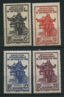 1939 Indocina, Esposiziona San Francisco , Serie Completa Nuova (*) Linguellata - Indocina (1889-1945)