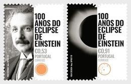 Portugal - Postfris / MNH - Complete Set 100 Jaar Einsteins Eclipse 2019 - 1910-... Republiek